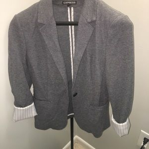 Express Roll Sleeve Blazer